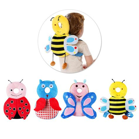 Baby Infant Walking Head Back Protection Protector Safety Pad Harness Headgear