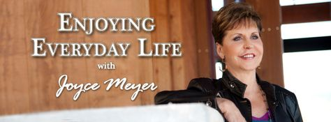 Discover a fuller, richer life in Christ with #JoyceMeyer, every weekday morning at 7:30a/6:30c & afternoon at 12:30p/11:30c on the TCT Network.