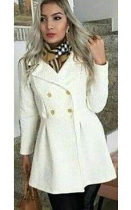6a136ffb8d2b9c Casaco Feminino Inverno #casaco #looksdeinverno | Looks para o Frio ...