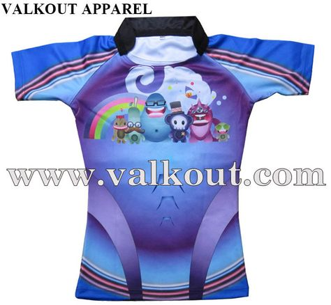 Custom Rugby Uniforms Jerseys For Youth Adults Valkout Apparel Co Ltd Custom Sublimated Fishing Jerseys Sub Rugby Uniform Sport Outfits Rugby Jersey