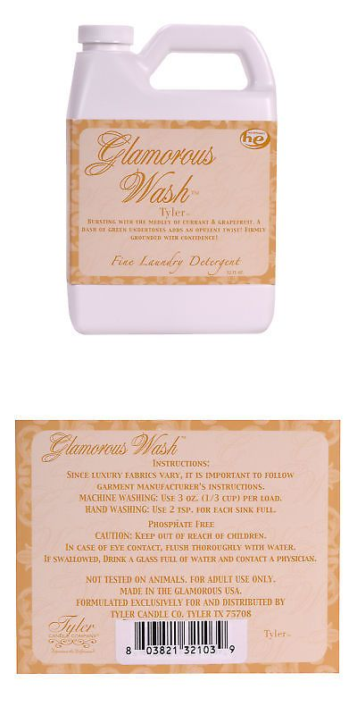 Tyler Candle Company Glamorous Wash 64oz 1 2 Gallon Tyler