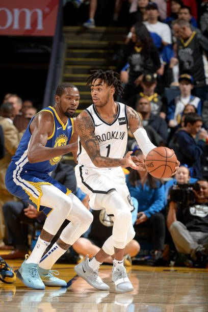 D Angelo Russell Of The Brooklyn Nets Handles The Ball Against The Brooklyn Nets Brooklyn Nba Champions