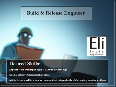 Build \ Release Engineer Jobs in Faridabad, Delhi Ncr Eli India - build and release engineer resume