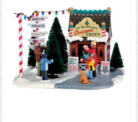 Menards Christmas Village.I Just Purchased This Today For 15 At Menards
