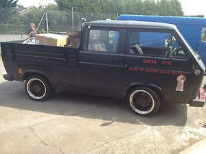 Volkswagen T25 Air Cooled Crew Cab Pickup Volkswagen Vw And