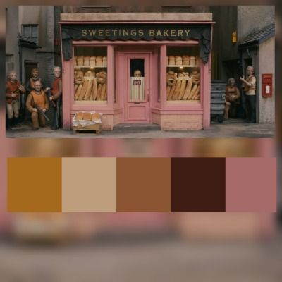 wes anderson color palette | Tumblr | Comic Help in 2019