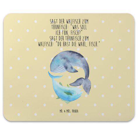 Mauspad Druck Walfisch & Thunfisch aus Naturkautschuk  black - Das Original von Mr. & Mrs. Panda.  Ein wunderschönes Mouse Pad der Marke Mr. & Mrs. Panda. Alle Motive werden liebevoll gestaltet und in unserer Manufaktur in Norddeutschland per Hand auf die Mouse Pads aufgebracht.    Über unser Motiv Walfisch & Thunfisch  Walfisch & Thunfisch sind ein ganz besonders liebevolles Motiv aus der Mr. & Mrs. Panda Kollektion.    Verwendete Materialien  Hergestellt mit einer sehr hochwertigem und langleb