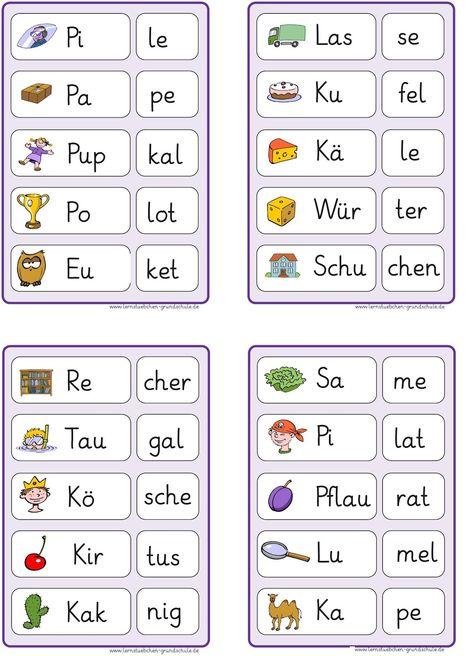 mathemalvorlagen der kindergartentätigkeit  lesen lernen