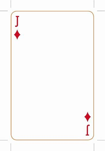 Printable Blank Playing Cards Fresh Best S Of Playing Card Templates For Word Playing Blank Playing Cards Printable Playing Cards Custom Playing Cards