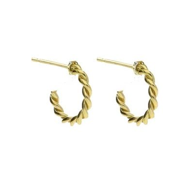17 Best images about Stunning Gold Hoop Earrings on Pinterest