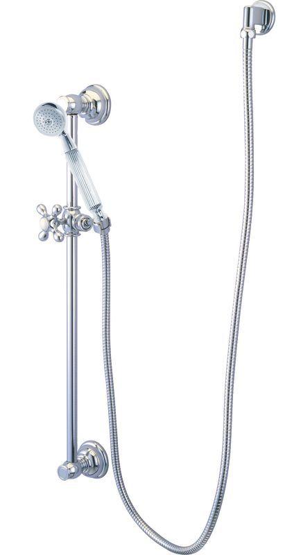 Elements Of Design Eak3421w1 Shower Kit With Brass Supply Elbow