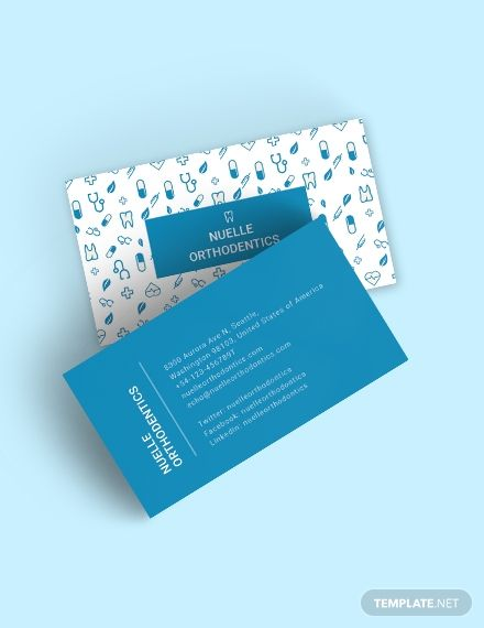 Creative Dentist Business Card Template Word Doc Psd Apple Mac Pages Illustrator Publisher Medical Business Card Free Business Card Templates Dental Business Cards