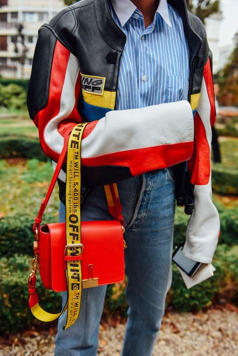 October 1, 2016  Tags Paris, Bags, Off-White, Vetements, SS17 Women's #mensfashion