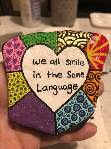 45 Artsy And Pretty Diy Painted Rock Ideas For Quality Creative Time Rock Painting Designs Rock Painting Ideas Easy Rock Crafts