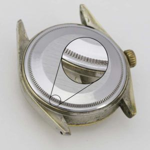 Open Grooved Or Oyster Style Watch Case Backs Fashion Watches Watch Case Oysters