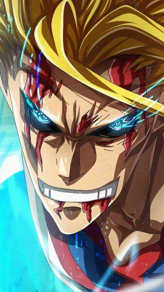 All Might Toshinoriyagi Hero Wallpaper My Hero Academia Hero