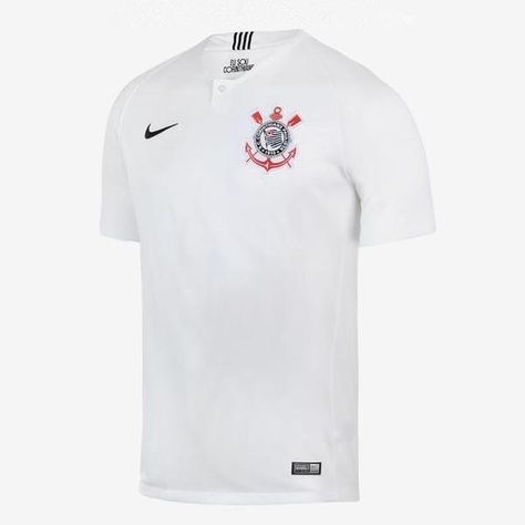 eb808fba22b Corinthians Paulista 18/19 Home Men Soccer Jersey Personalized Name and  Number