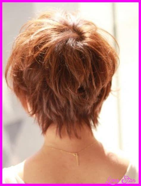 Layered Stacked Bob Haircut Photos Front And Back Yahoo Search Results Short Hair Back Short Hair Styles Short Hair Back View