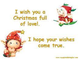 Tarjeta de felicitacion de navidad en ingles