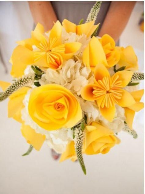 Mazzo Di Fiori Gialli.L Arte Del Bouquet Fiori Per Matrimoni Mazzi Di Fiori Gialli E