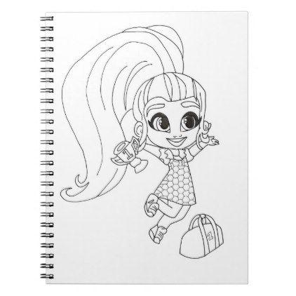 Hairdorables Bouncy Brit Coloring Notebook Zazzle Com In 2020 Bouncy Color Fun Crafts