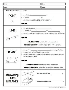 Geometry Basics: Points, Lines, Planes, Angles (Geometry
