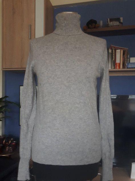 Grauer Damen Pullover Gr. L