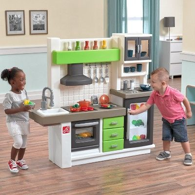 Step2 Euro Edge Kitchen Play Food And Toy Kitchens Kitchen Sets