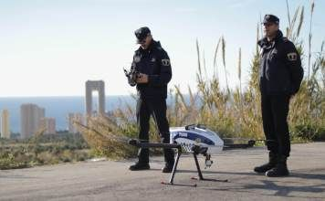 Hybrix Police Drone For Benidorm City Suas News The Business Of Drones Benidorm Unmanned Aerial Vehicle Drone
