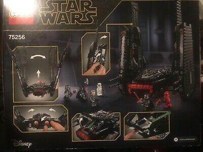 Ad Lego Star Wars The Rise Of Skywalker Kylo Ren S Shuttle 75256 Brand New Kylo Ren Shuttle Lego Star Wars Skywalker