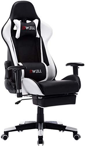 Tremendous Edwell Computer Gaming Chair Height Adjustable Swivel Pc Caraccident5 Cool Chair Designs And Ideas Caraccident5Info