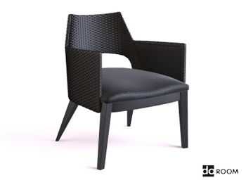 3D Max Black Armchair   3D Model | 3D Modeling | Pinterest | Black Armchair,  Max Black And Armchairs