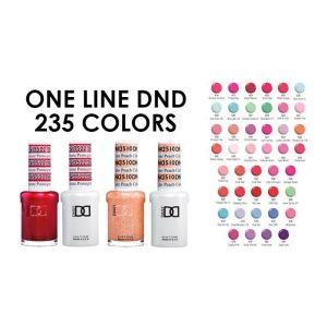 DND One Line 235 Colors | DND Gel Polish | Dnd gel polish, Wholesale