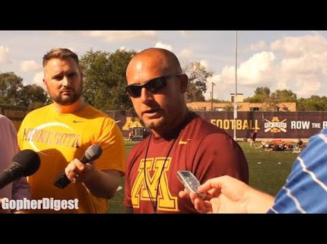 PJ Fleck talks Gophers quarterback competition on August 8th