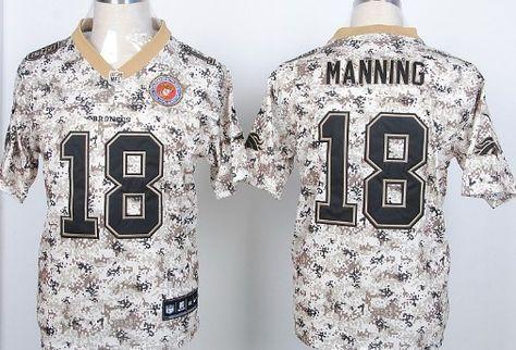78aef997c ... Mens Nike Denver Broncos 18 Peyton Manning Elite Camo Realtree  Collection Jersey Denver Broncos Peyton Manning ...