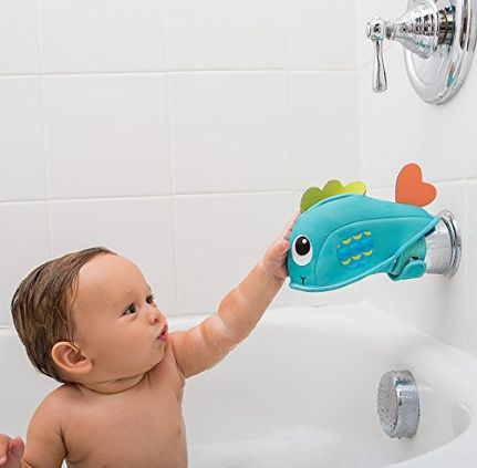 Baby Kids Care Bath Spout Tap Tub Safety Water Faucet Cover Elephant Protector Guard