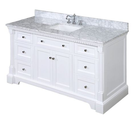 Bournon 60 Single Bathroom Vanity Set Bathroom Vanity Single