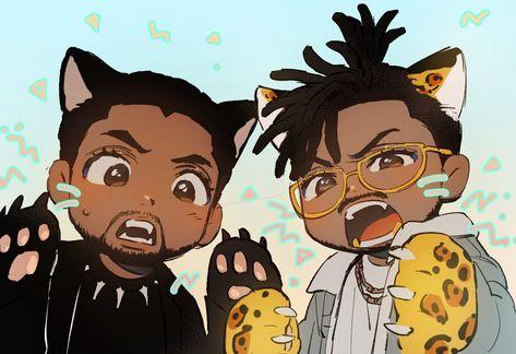 Black Panther Fanart.