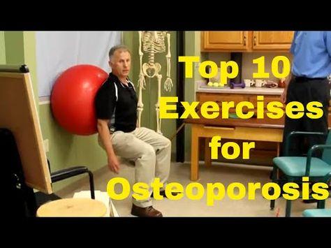 "10 Best Exercises for Osteoporosis ""Weak or Thinning Bones"". - YouTube"