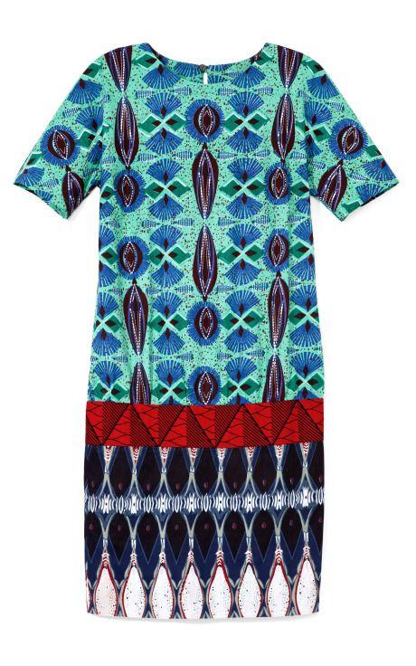 Shop Printed Wax Cotton Tunic by Stella Jean Now Available on Moda Operandi