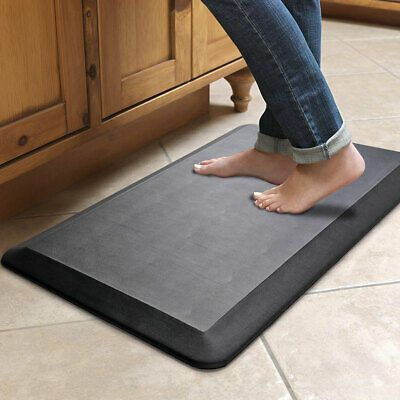 Details About Black Anti Fatigue Standing Mat For Home Office