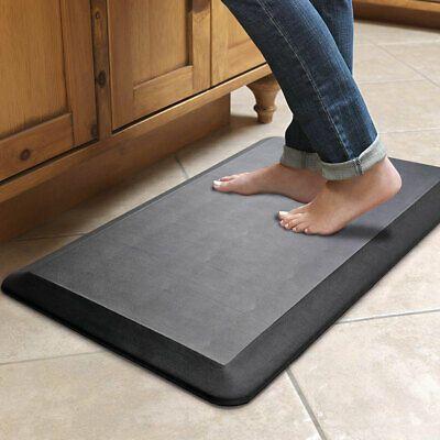 Kmat Kitchen Mat Cushioned Anti Fatigue Floor Mat Waterproof Non