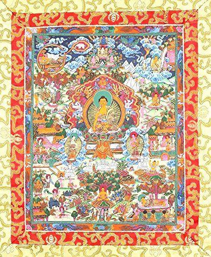 Vajrakilaya Drupchen Tibetan Thangka tapestry cloth poster interior design ideas