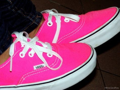 5a6025755430 Got my Vans on but they look like sneakers....Love the Hot Pink! So comfy!