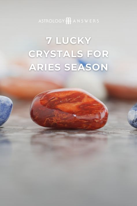 Behold – the crystals for Aries that follow are not purely exclusive to those born under the ram's dynamic sign but are highly beneficial to all of us.