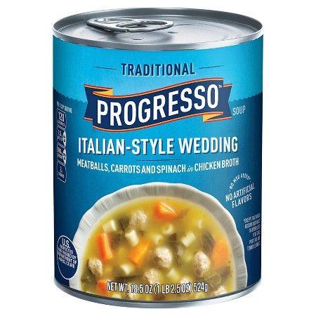 Progresso Wedding Soup Calories