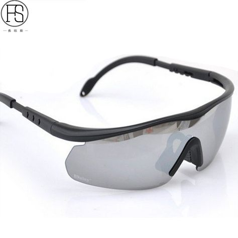 C6 Polarized Glasses Army Tactical Motorcycle Hunting Shooting Airsoft New