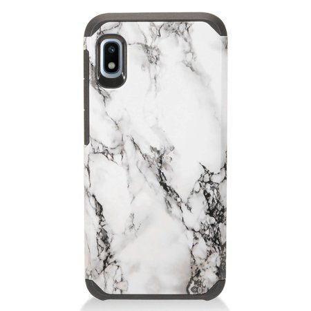 Mundaze Samsung A10e Case Cover White Marble Double Layer Stone Case Iphone Cases Iphone 7 Phone Cases