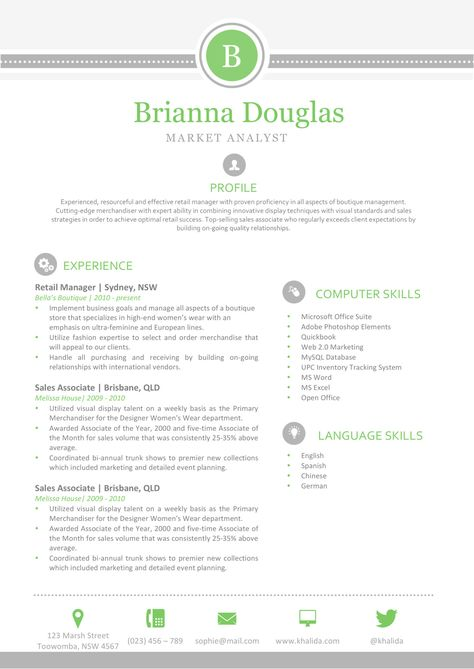 Debbie Danielson Resume A4 1 Resume Shop Pinterest Creative - one page resume