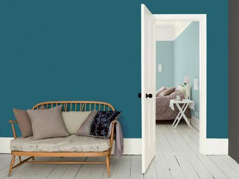 Couleur De L Annee Les Tendances 2017 Peinture Salon Salons Sarcelle Couleur Mur Salon